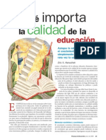 01 - Por qué importa la calidad de la educación