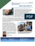Biology News Ltr 2011
