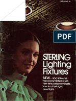 Sterling Lighting Fixture Catalog 98 1971
