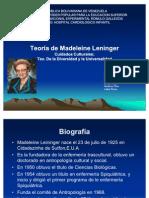 Presentacion de Madeine Leininger