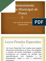 Ley 54 Policia Municipal