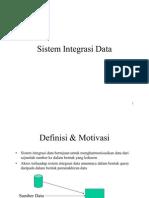 Sistem Integrasi Data