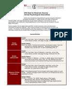 APA Format Guide