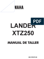Manual de Servicio XTZ 250 Lander