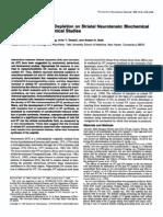 Andrew J. Bean et al- Effects of Dopamine Depletion on Striatal Neurotensin