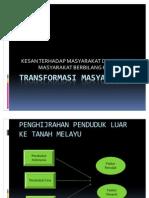 TRANSFORMASI MASYARAKAT