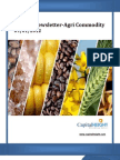 Weekly AgriCommodity Newsletter 09-01-12