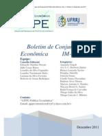 BoletimConjunturaEconomicaUFRRJ - Quarta edição