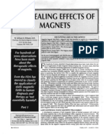 Healing Effects of Magnets