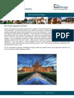 TX 2011 Legislation Service White Paper (1)