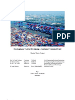 Designing a Container Terminal Yard