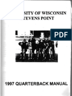 1997WisconsinStevensPointQBManual