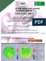 IOL Selection Using Total Cornea WF