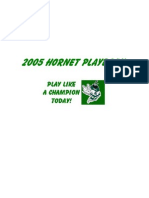 2005 Hornet Playbook