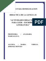 Didactica de La Lengua II
