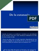 De La Eutanasia Diapositivas
