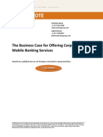 Corporate Mobile Banking Report 2010