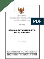 Rancangan Perpres RTR Pulau Sulawesi