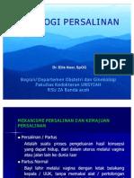Fisiologi persalinan (24 04 2007)