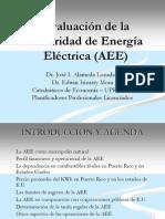Evaluación AEE