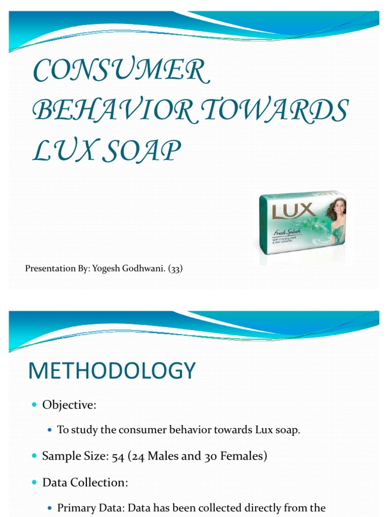 consumer behavior with regard to purchase of detergents A case study on consumer buying behavior towards consumer behaviour is largely effected by place,product,price,promotion detergents, shampoos.