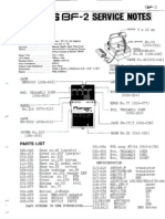 Boss BF-2 Service Notes