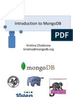 Introduction to MongoDB Presentation
