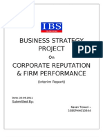 Business Strategy Project
