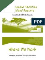Responsible Facilities in Island Resorts