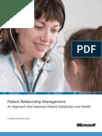 Microsoft Dynamics Crm Healthcare PRM Whitepaper