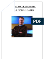 Strategy of Bill Gates