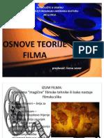 OSNOVE TEORIJE FILMA