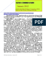 PDC Monthly News Commentary - January 2012