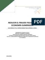 Reducir El Fraude Fiscal y La Economia Sumergida