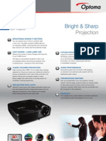 Data Projector XGA Optoma EX550 Edu-Board