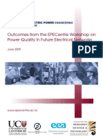 EPECentre PQ Workshop Report 2009