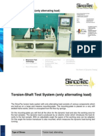 Drive Shaft Test System - Only Alternating Load