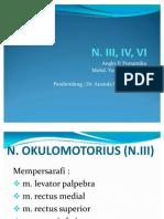 Neuroanatomi N.III, IV, VI