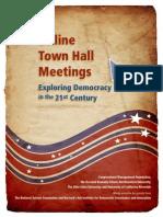 Online Town Hall Meetings