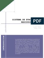 SISTEMA DE EVACUACIÓN DE RESIDUOS LIQUIDOS