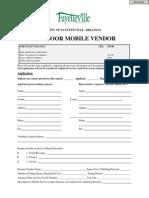 Outdoor Mobile Vendor Application