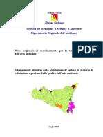 Piano ARIA  NUOVO  Piano regionale di coordinamento per la tutela della qualità dell'aria ambiente NON ANCORA APPROVATO