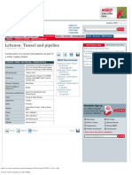 Lebanon_ Tunnel and Pipeline _ Tender _ MEED