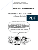 TRABAJO PSICOLOGÍA  APRENDIZAJE 1