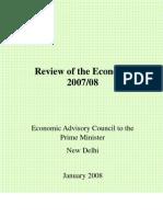 Review Economy 2007-2008 GoI