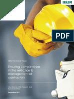IIRSM Technical Paper_Contractors_Dec 2011