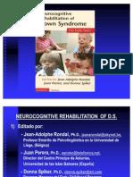 Rehabilitación Neurocognitiva del Síndrome de Down