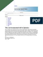 Environmental Factors Plastics