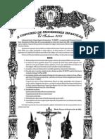 El Sudario 2005 - Anunc Concurs Proces Infant