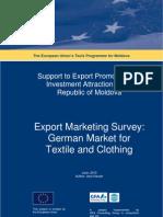 Market Survey Textile Germany En